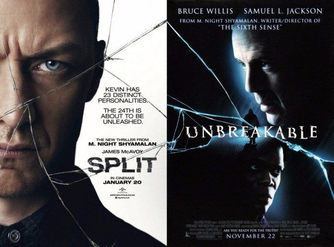 unbreakable and split